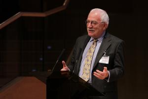 Uffe Ellemann-Jensen, tidligere udenrigsminister og Selskabets formand 1993-2012. Foto: Baltic Development Forum.