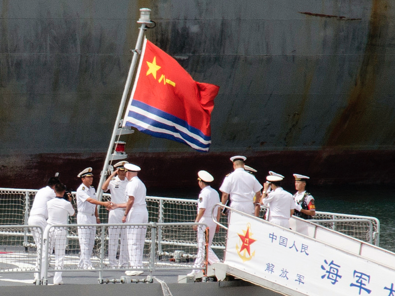 France, China and the art of naval diplomacy in the Indo-Pacific
