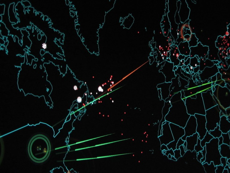Udenrigspolitik i Cyberspace